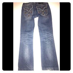 Miss Me Boot Cut Jeans 27W/27L